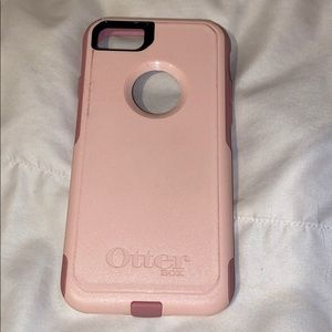 Pink otterbox commuter series case